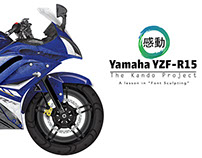 Yamaha YZF - R15 (Font Sculpting)