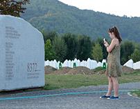 In Srebrenica Genocide Memorial: the list of victims