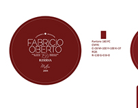 Fabricio Oberto Wine Packaging