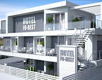 """Hotel """"FO-REST"""" in Odessa"""