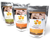 * Maddy's Organic Meals : Organic Baby Food//
