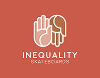 Inequality Skateboards - Branding & App Design