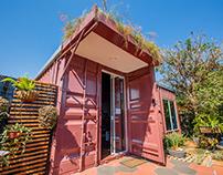 Container de criação da arquiteta Andrea Becker
