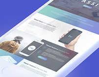be. Creative Landing Page