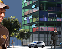 Central Law Lybrary  -Hamburg- (free interpretation)