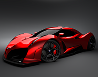 Alfa romeo hypercar concept