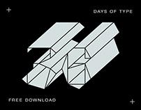 36 Days of Type (freebie)
