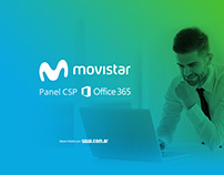 Panel CSP Office 365 de Movistar