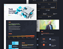 IT Kontrakt - corporate website