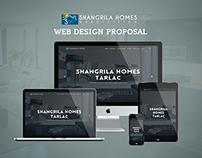 Shangrilla Homes Tarlac Web Design Proposal
