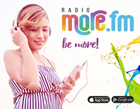 Radio MORE.FM (Mobile App & Android)