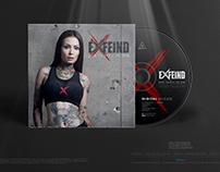 EXFEIND • Der Teufel In Dir • Sleeve Design