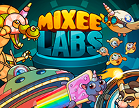 MIXEE LABS | Game Cover Design