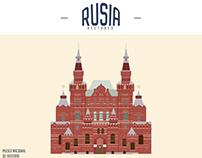 Rusia Vectores Para: @3TravelBloggers