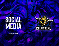 SOCIAL MEDIA | CELESTIAL ESPORTS ORG.