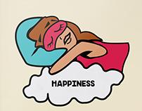 Happines Illustration