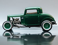 The Bonneville Coupe / Scale Model