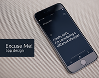 Excuse Me! App Design