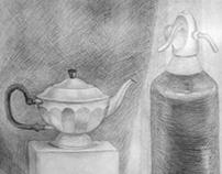 Рисунок от руки (карандаш, уголь, графит)