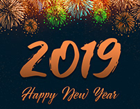 Wishing Happy New Year 2019