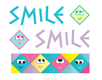 Smile Icons Set Design