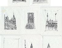 Around the centuries (Drawings, Designs)