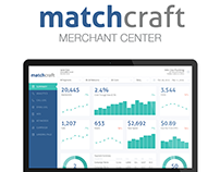 UX/UI design for Matchcraft Merchant Center