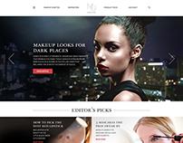 Makeup.com Home Concept