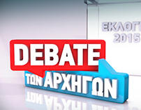 ELECTIONS 2015 Debate Title Sequence