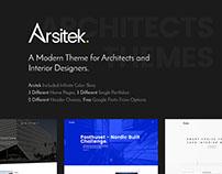 Arsitek | Theme for Architects and Interior Design