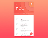 Daily ui, planner