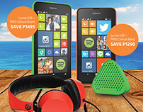 Microsoft Lumia Summer Promo