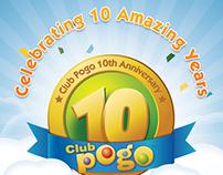 Pogo 10 years anniversary celebration.
