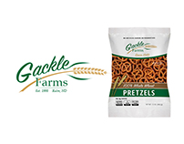Gackle Farms Logo & Packaging