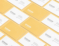 Business Cards Perspective Mockup