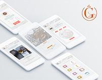Gryphon Tea | Mobile App Protype