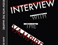 Book Jacket Design: Interview with the Vampire