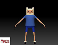 3D Character Model - Finn, the Human