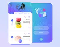 Unicorn - App UI/UX Design Concept