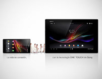SONY one touch