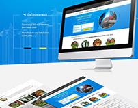 Дизайн сайта - фабрика свай