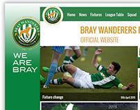 Bray Wanderers F.C. Website