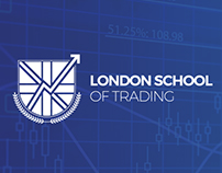 Trading School Website and Logo