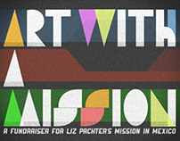 Art With A Mission Invite Card
