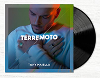 COVER DESIGN for TERREMOTO graphic, post and lettering