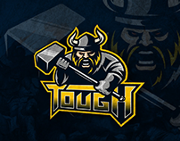 Viking mascot logo by BRULLIKK