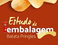 Estudo de embalagem - Batata Pringles