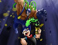 Bane & Popeye