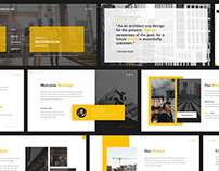 Pablo Architecture Powerpoint Template