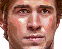Liam Hemsworth portrait